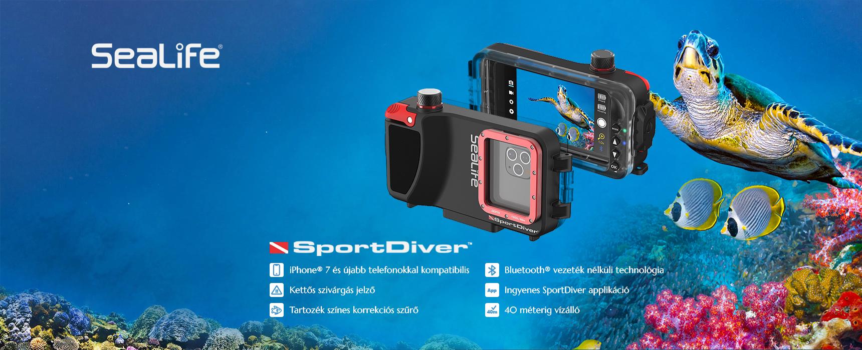 Sport Diver víz alatti tok iPhone telefonokhoz