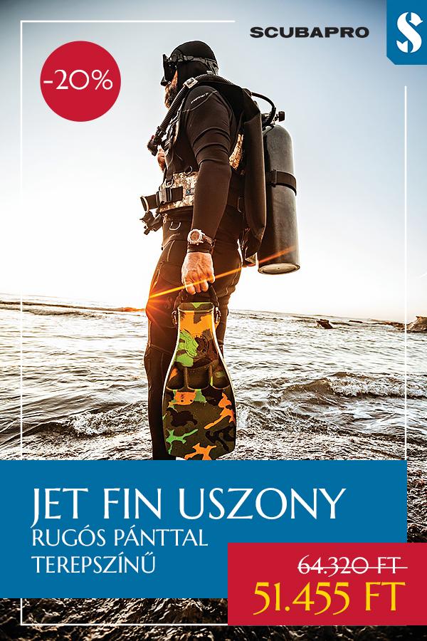 Jet Fin Uszony Akció - Szenteltvíz Búvárbolt