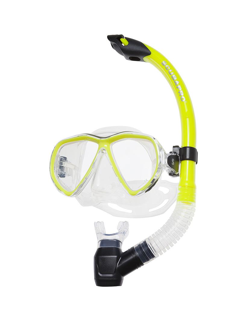 Scubapro - Currents maszk + sznorkel szett