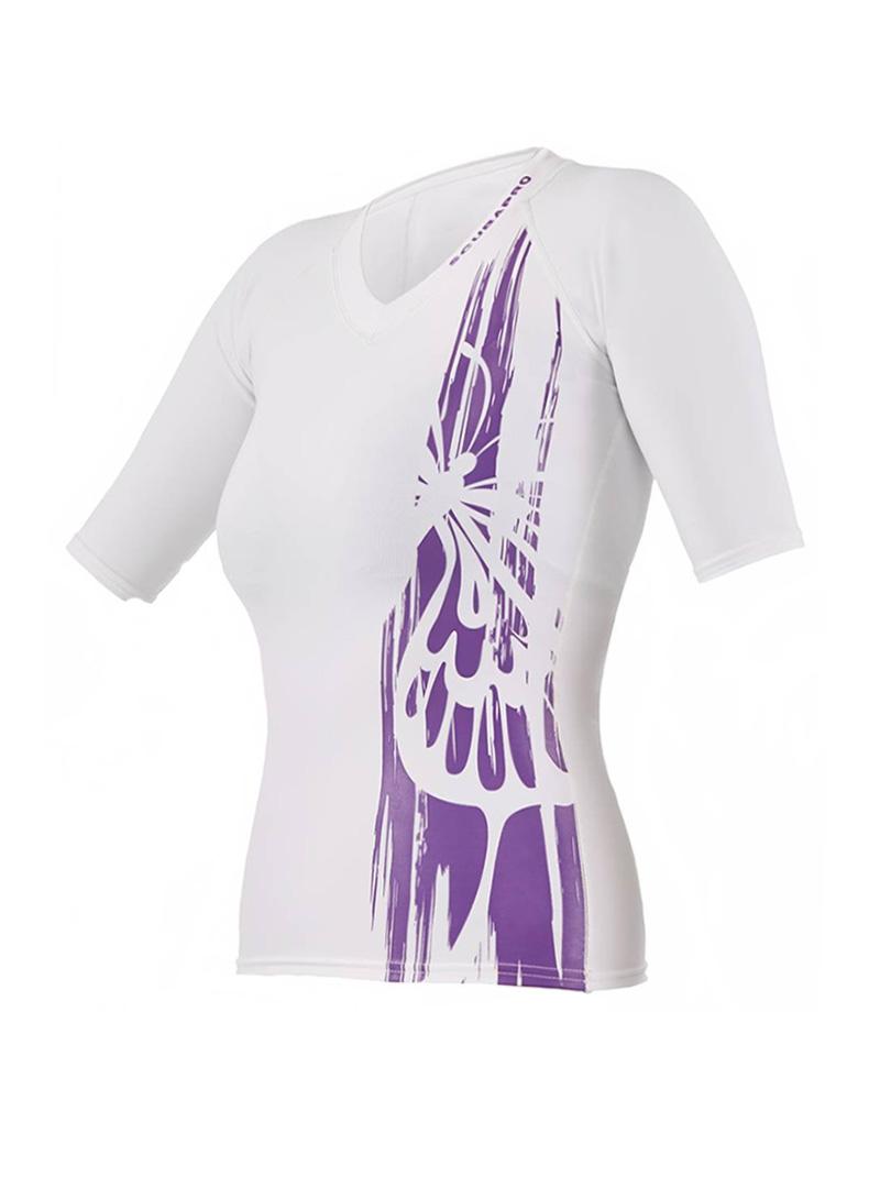 Scubapro - Rövidujjú női póló, Purple Mermaid