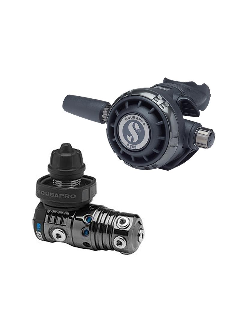 Scubapro - MK25 EVO Black Tech - G260 Black Tech reduktor