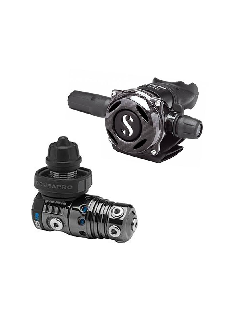 Scubapro - MK25 EVO Black Tech - A700 Carbon Black Tech reduktor